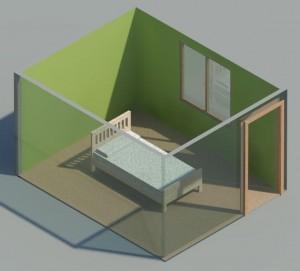 orientacion de la cama